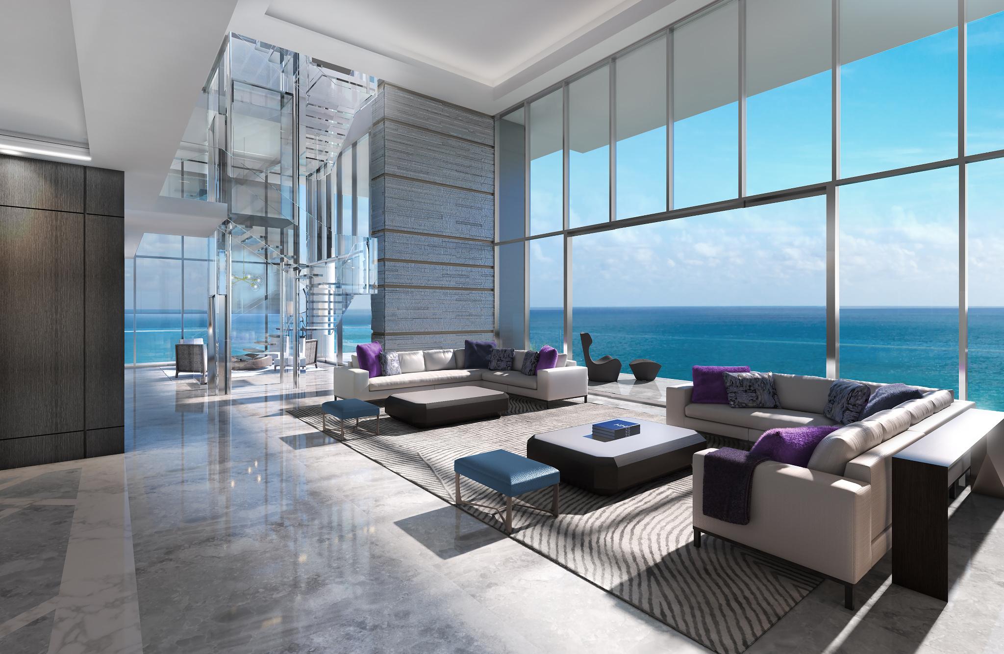 apartamento de vidro